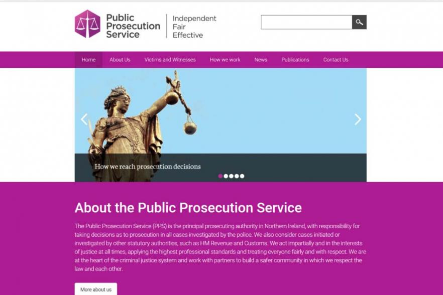PPS website front page